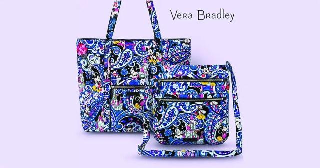 Cheery New Mickey Paisley Vera Bradley Collection Coming Soon 2