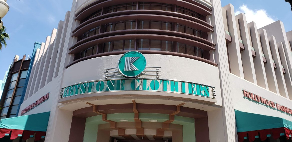 Keystone Clothier is now open in Hollywood Studios