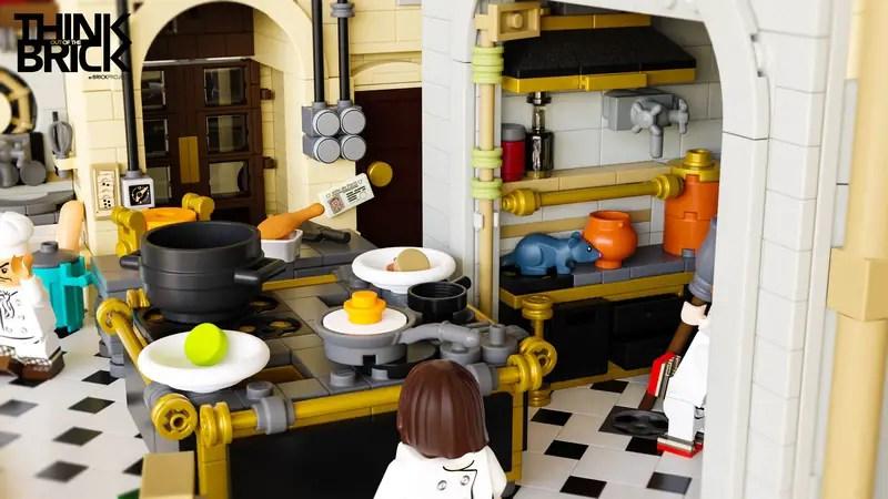 LEGO Ideas: Ratatouille LEGO Set, Inspired By Gusteau's Restaurant 3
