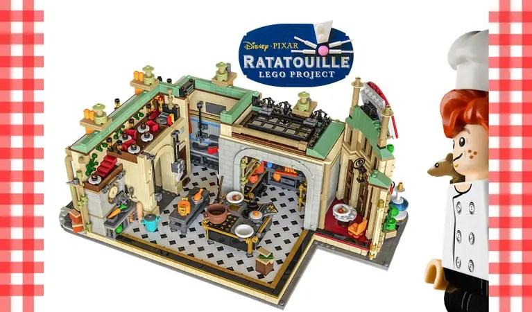 LEGO Ideas: Ratatouille LEGO Set, Inspired By Gusteau's Restaurant 1