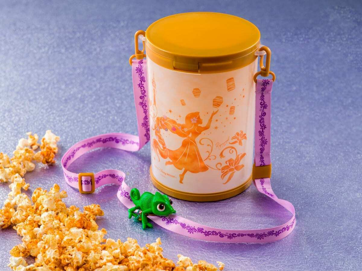 Tangled Popcorn Bucket From TDR Gleams And Glows 2