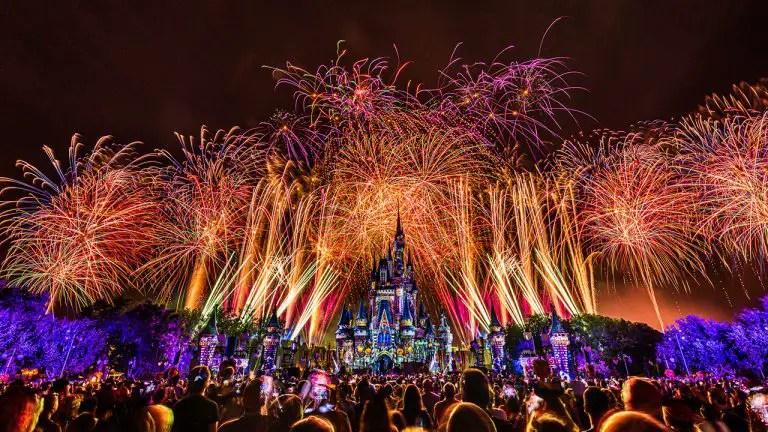 Disney Parks Blog To Stream 'Disney's Not So Spooky Spectacular' Fireworks Display September 15th