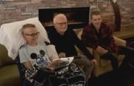 'Emperor Palpatine' and 'Anakin Skywalker' From Star Wars Visit Children's Hospital