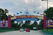 Walt Disney World New Digital Sign to Magic Kingdom Toll Plaza