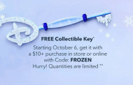 Free Frozen Collectible Key at the Disney Store & Online on October 6th