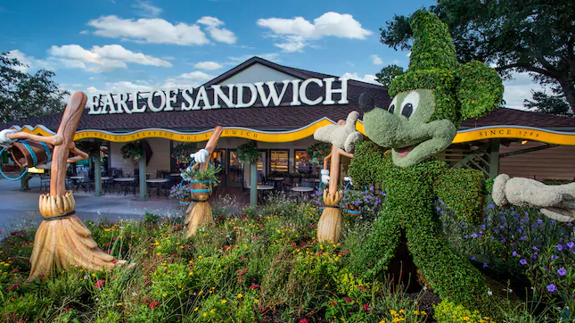 Earl of Sandwich in Disney Springs Wins TripAdvisors' Critic's Choice Award!