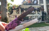 Bride and Groom Churros are a Chillingly Tempting Snack near Disneyland's Haunted Mansion