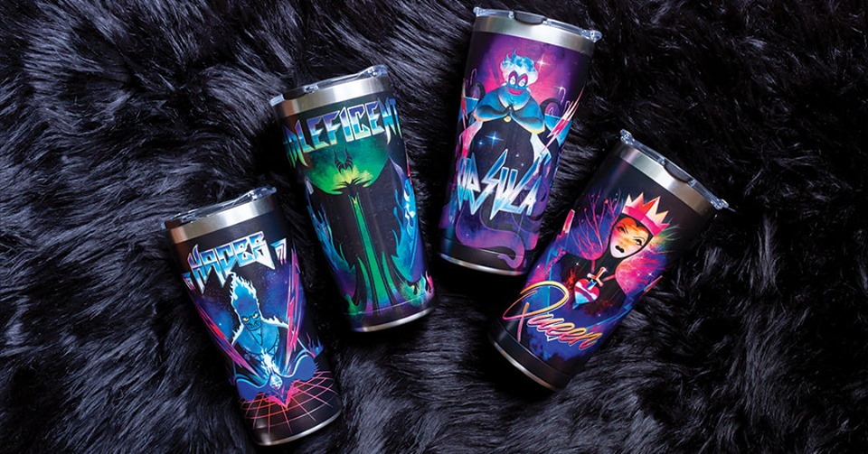 Disney Villains Tervis Tumblers Let You Take Your Wicked To Go 1