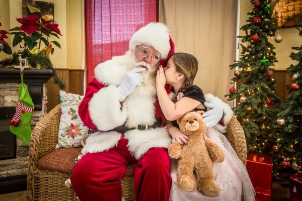Breakfast with Santa at Catal Restaurant in Downtown Disney 1