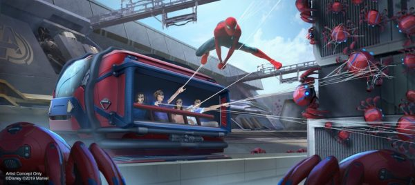 Guests Will Shoot Webs From Their Wrists on New Spider-Man Ride