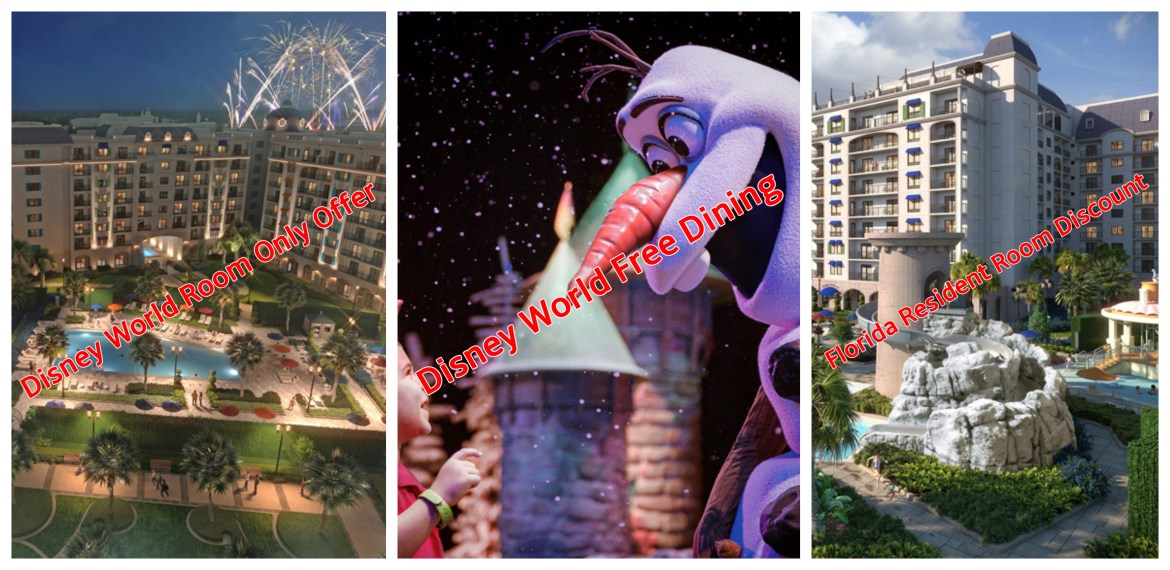 Three New Disney World Offers Out Now for 2020