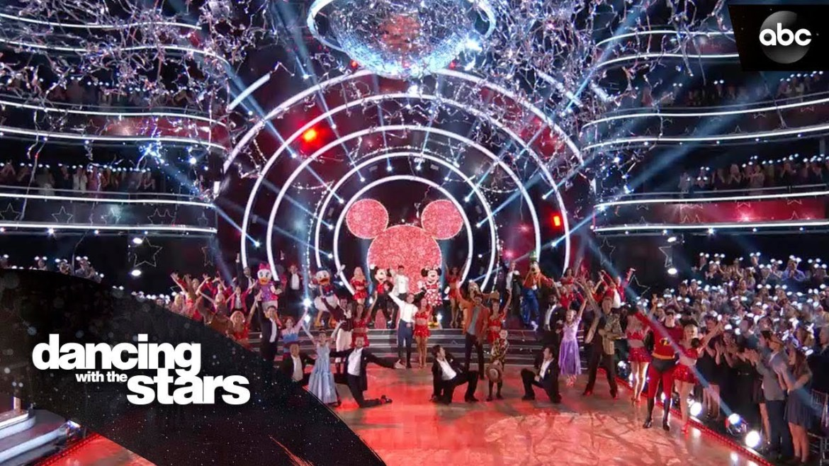 For the First Time ever Sleeping Beauty Castle Will Be Featured on Disney Night on Dancing with the Stars