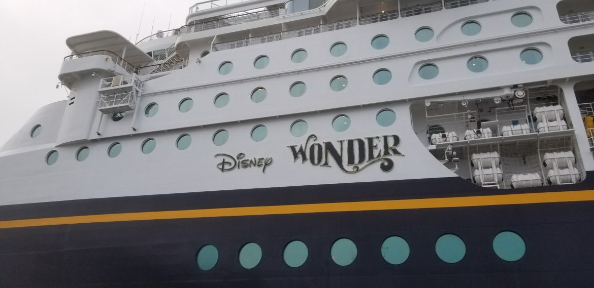 Disney Wonder has made it to Port Canaveral