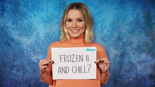 kristen bell frozen II premiere