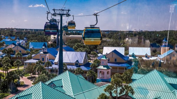 Disney Skyliner Transports 1 Million Guests in No Time