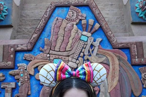 Concha Minnie Ears Mexico