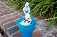 Olaf Dole Whip Slushie Now Available At Disney Springs