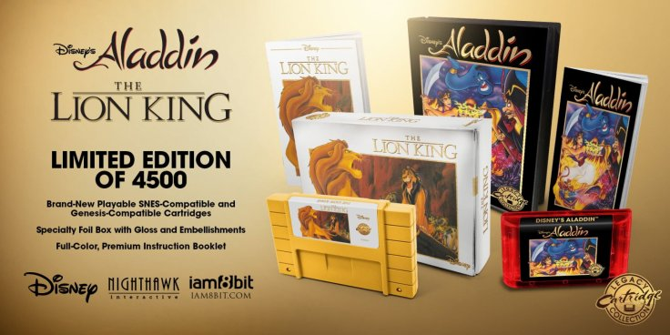 Disney Classic Games: Aladdin and The Lion King Available Now