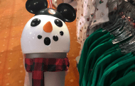 Mickey Snowman Christmas Tumbler Lights Up With Holiday Fun
