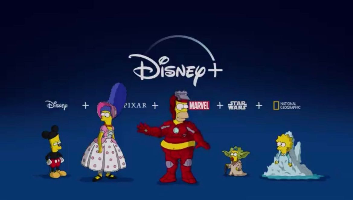 'The Simpsons' Join Disney+ In Hilarious New Video