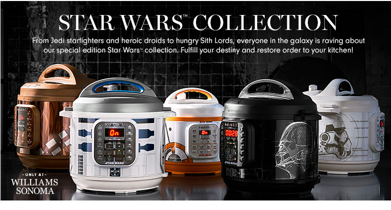 Instant Pot Has Become the Latest Star Wars Appliance Cross-Over
