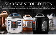 Williams Sonoma unveil 5 new Star Wars themed Instant Pots