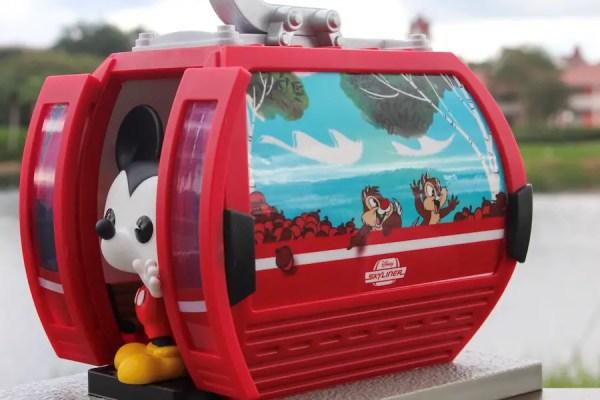 New Disney Parks Exclusive Funko Pop - Disney Skyliner Mickey Mouse 3