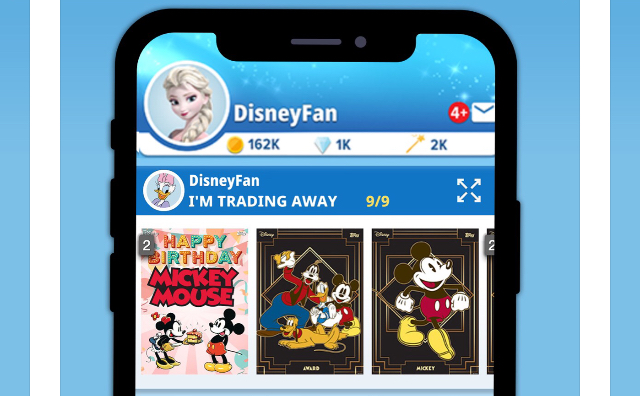 Disney and Topps Work Together To Create New App: 'Disney Collect!'