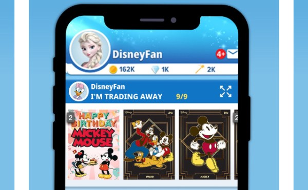 Disney and topps create Disney Collect! app