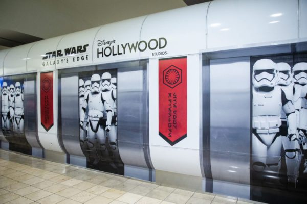 All new Star Wars Decor at the Orlando International Airport 3