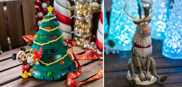 Souvenirs and Collectibles from Mickey's Very Merry Christmas Party 1