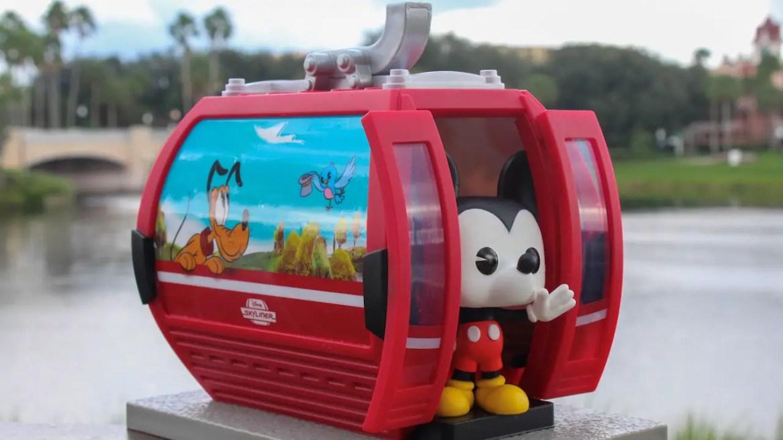 New Disney Parks Exclusive Funko Pop – Disney Skyliner Mickey Mouse