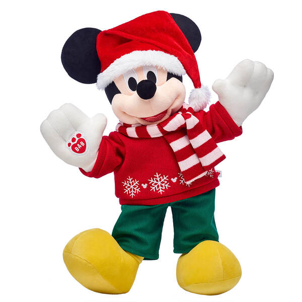 New Seasonal Mickey And Minnie Collection From Build-A-Bear 2