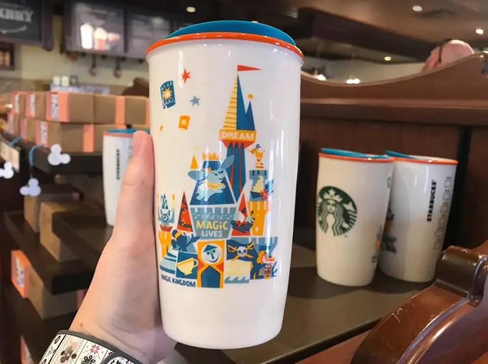 Disney Parks Starbucks Mugs