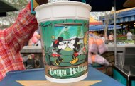 New Happy Holidays Disney Popcorn Bucket Available At Magic Kingdom
