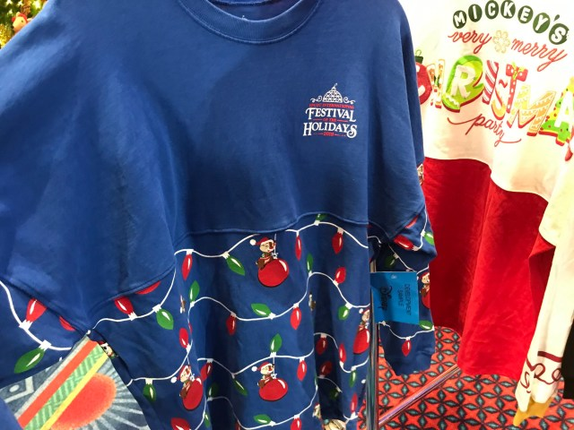 Epcot Festival Of The Holidays Spirit Jersey Coming Soon 2