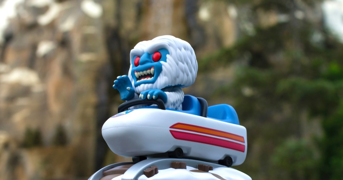 New Disney Parks Exclusive Funko Pop – Matterhorn Bobsled with Abominable Snowman!!