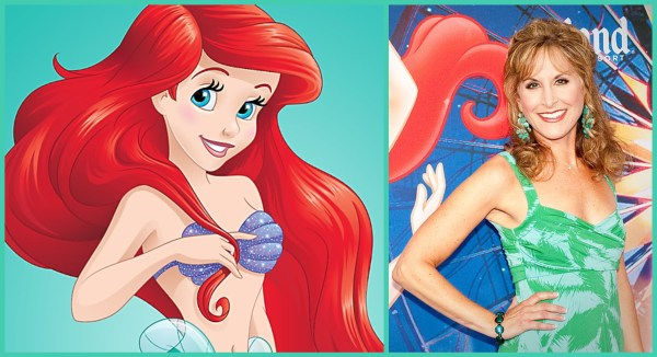 Original Voice of Ariel, Jodi Benson, Appearing in ABC's 'The Little Mermaid Live!' 1