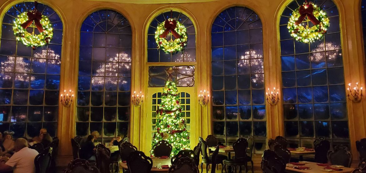 Be Our Guest Is Now Ready For Christmas! And It Is Enchanting!