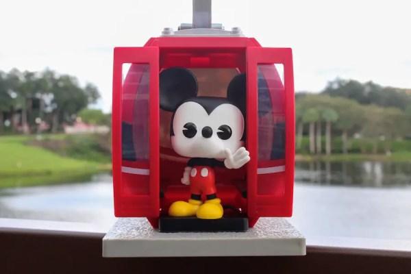 New Disney Parks Exclusive Funko Pop - Disney Skyliner Mickey Mouse 5