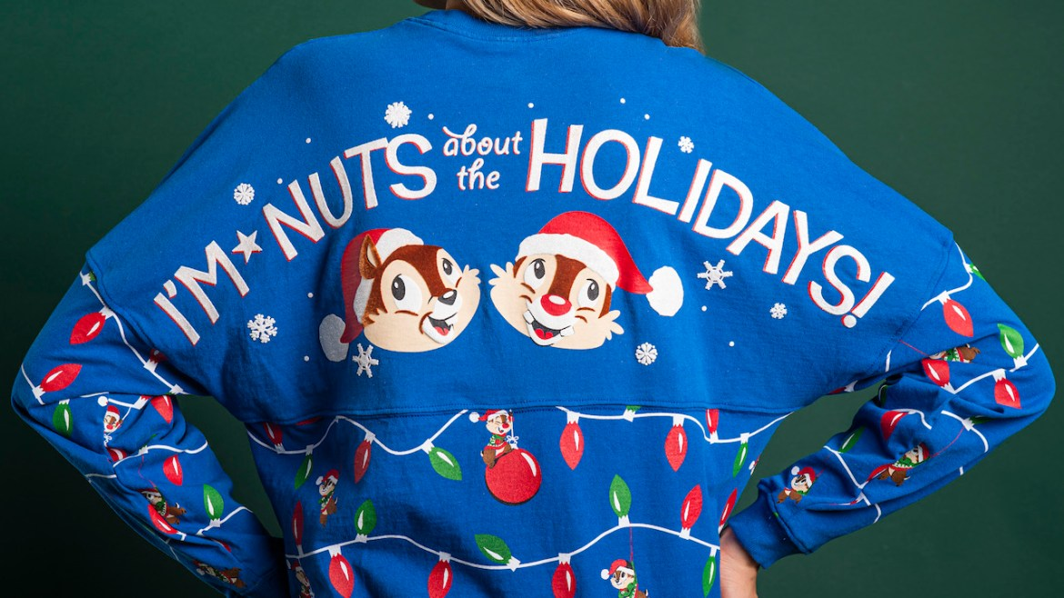 """Chip 'n' Dale Merchandise Coming to """"Festival of the Holidays"""" at Epcot!"""