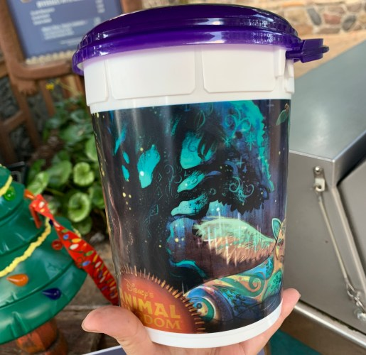 New Popcorn Bucket and Matching Mug at Animal Kingdom Features Adorable Holiday Animal Puppets 3