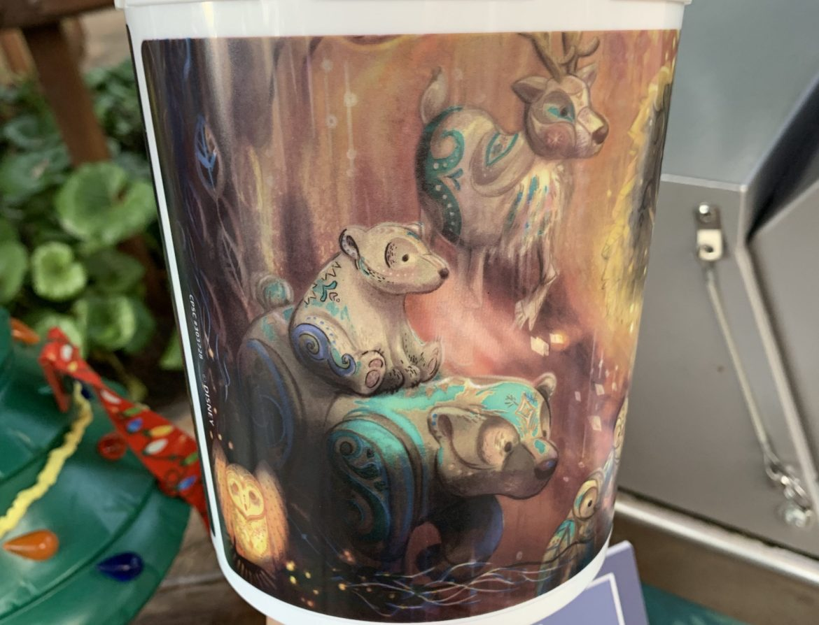 New Popcorn Bucket and Matching Mug at Animal Kingdom Features Adorable Holiday Animal Puppets