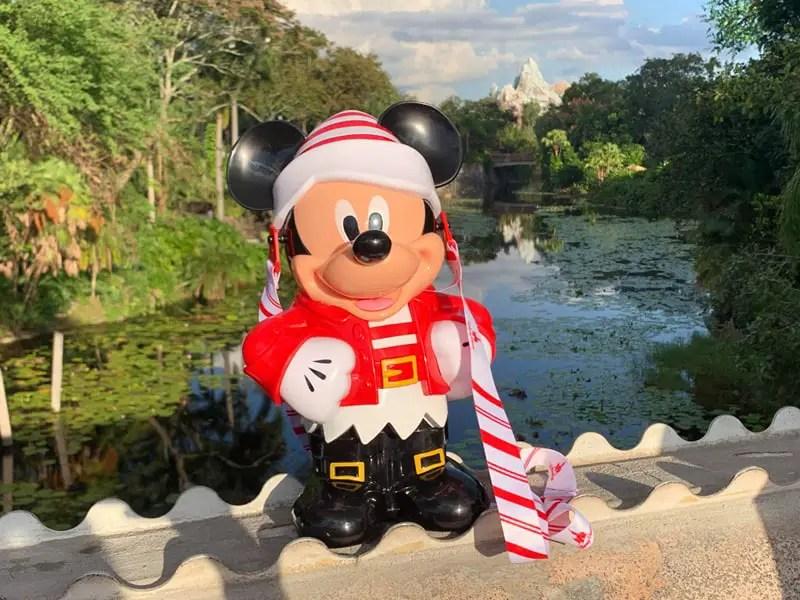 NEW Mickey Elf Popcorn Bucket Available At Walt Disney World!