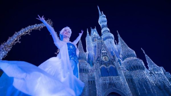 See the First 'A Frozen Holiday Wish' Castle Lighting of the Season on Nov. 3rd LIVE 2