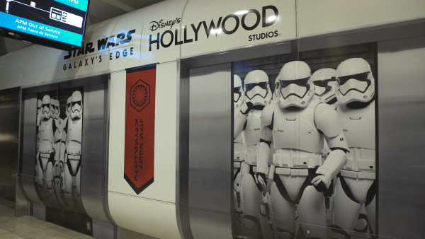 All new Star Wars Decor at the Orlando International Airport 1