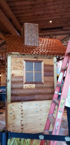 Gingerbread Cabin at Wilderness Lodge is Almost Here! 3