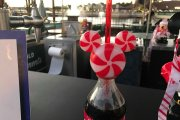 New Candy Cane Mickey Bottle Topper At Walt Disney World
