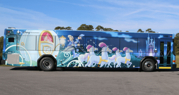 Two New Disney Character Buses Spotted at Walt Disney World 1
