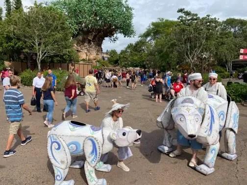 Merry Menagerie Debuts At Disney's Animal Kingdom! 1